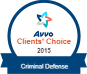 Avvo Clients' Choice - Criminal Defense 2015